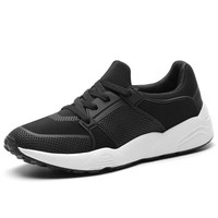 2017 New Arrival Running Shoe Men Black/Gray Man Sport Sneakers Lace Up Low Price Athletic Shoes Hard-Wearing Trainer Sneakers