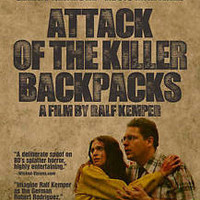 ATTACK OF THE KILLER BACKPACKS (DVD, 2012, German) New / Sealed / Free Shipping