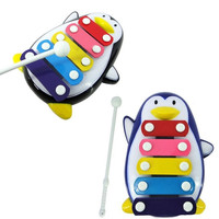 Baby Kid 5-Note Xylophone Musical Toys Wisdom Development Penguin = 1945788548