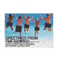 Greetings Ozarks Postcard
