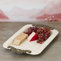 Rectangular Serving Tray with Handles - GG Collection