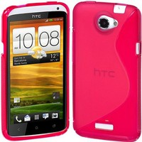 Cimo S-Line Back Case Flexible TPU Cover for HTC