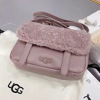 UGG Wool Crossbody Satchel Shoulder Bag