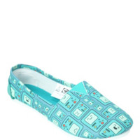 Adventure Time BMO Slip-On Shoes