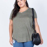 Plus Size So Relaxed Tee