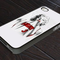 Marilyn Monroe Miami Heat - Print On Hard Cover For iPhone 5