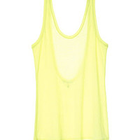 Scoopback Tank - Marled Tees - Victoria's Secret