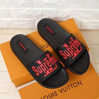 LV Men Men's slippers shoes sandals
