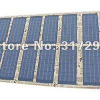 Solar Bag for Laptop 120W/18V Foldable Solar Panel for Outdoor Camping/Travel/Emergent Use