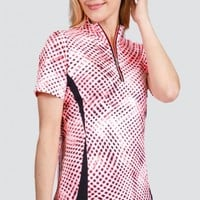 Tail Ladies & Plus Size Remy Short Sleeve Golf Tops - BRIGHT VENTURE (Whirl)