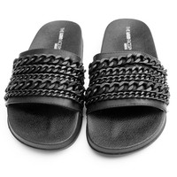 LALA MATTE CHAINED SLIDES