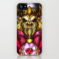 The Beast iPhone Case by Mandie Manzano | Society6
