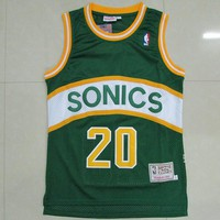 NBA Seattle Supersonics #20 Gary Payton Swingman Jersey