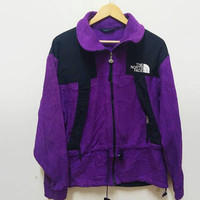 The North Face fleece jacket  Train harder outdoors Embroidery logo hiking outdoor