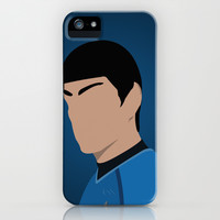 Spock iPhone & iPod Case by Tom Storrer