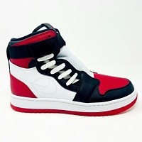 Air Jordan 1 Retro Nova XX Bred Toe White Red Black Womens Sneakers AV4052 106
