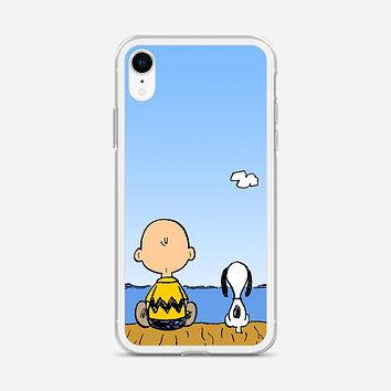 Snoopy And Charlie Brown iPhone XR Case