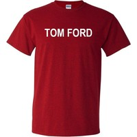 Tom Ford Antique Cherry Red T-Shirt