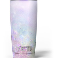 The Tie-Dye Cratered Moon Surface Yeti Rambler Skin Kit