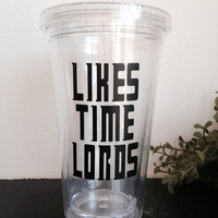 Likes Time Lords tumbler