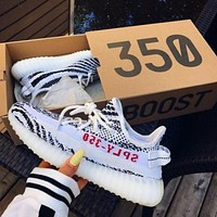Samplefine2 DIDAS Yeezy Boost 350 V2 Fashion Women Men Comfortable Running Sneakers Sport Shoes