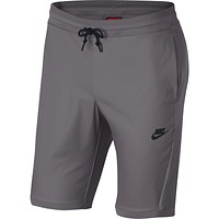 Nike Men's NSW Sportswear Tech Knit Shorts Gunsmoke Grey 886179-036