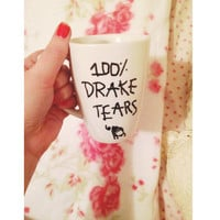 100% Drake Tears Coffee Cup