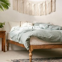 Bohemian Platform Bed | Urban Outfitters