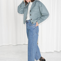 High Waisted Culotte Jeans