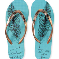 Feather Destiny Flip-Flop