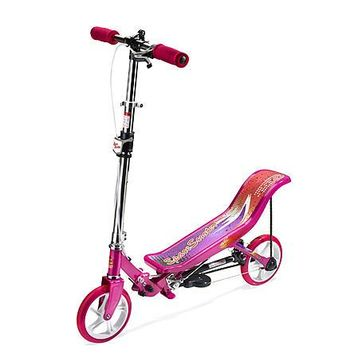 Kids Unique Space Pump N Go Scooter For Kids, Pink, Blue, Black, Red