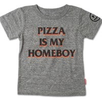 Pizza Is My Homeboy T-Shirt
