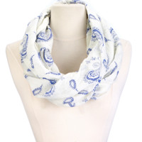 Infinity Paisley Scarf
