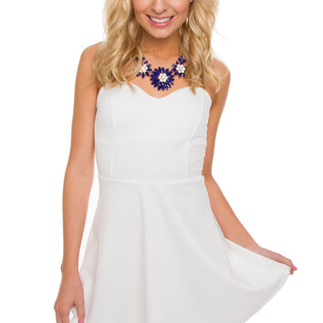 Amèlie Dress - White