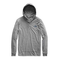 Men's Tri-Blend Henley Hoodie by The North Face