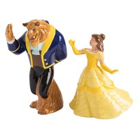 Beauty and the Beast Sculpted Ceramic Salt & Pepper Shakers