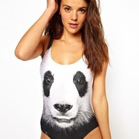 We Are Handsome Gentle Scoop One Piece Swimsuit at asos.com