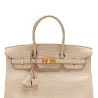 35Cm Matte Beton Alligator Hermes Birkin by Heritage Auctions Special Collections for Preorder on Moda Operandi
