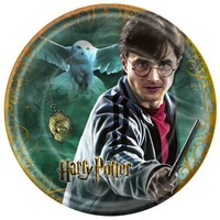 Harry Potter and the Deathly Hallows Dessert Plates 8ct