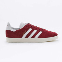 adidas Gazelle Collegiate Burgundy Trainers - Urban Outfitters