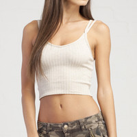 Sweater Crop Top - Ivory