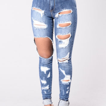 Be Friendly Jeans - Medium Blue