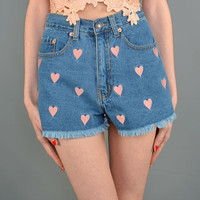 Full Of Love High waist shorts