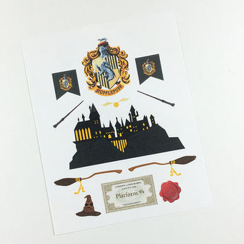 ECLP | Harry Potter | Hufflepuff House | 11 stickers