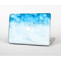 """The Winter Blue Abstract Unfocused Skin Set for the Apple MacBook Air 11"""""""