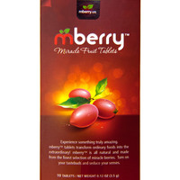 Mberry Miracle Berry Fruit Tablets