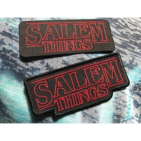 SALEM THINGS Woven Patch