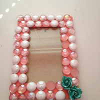"""4"""" x 6"""" Coral Wooden Frame"""