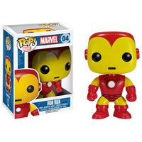 Iron Man Comic Book Pop Bobblehead Vinyl Figure