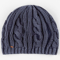 Rip Curl Acid Wash Beanie Charcoal One Size For Women 24238911001